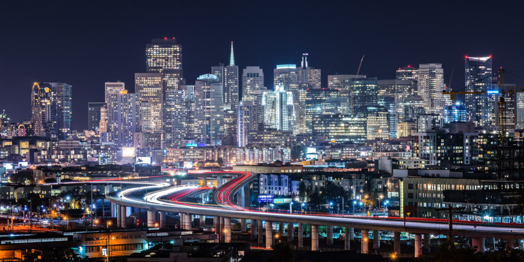 SF Night Potrero Hill Housing Guild LLC Luxury SF San Francisco Apartment Property Management
